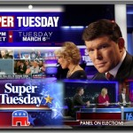 Fox News Super Tuesday 2012 Collage