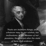 John Adams with quote