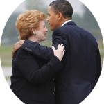 Stabenow & obama Oval