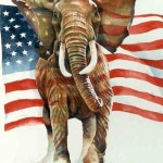 Raging GOP elephant