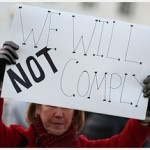 We will not Comply