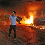 September 11, 2012 Benghazi terroist shortly after the attack of the U.S. compound
