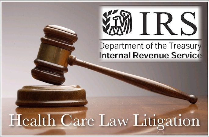 health care law litigation irs rule graphic