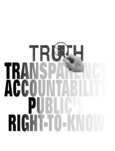 transparentcy, truth