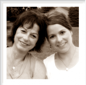 Shelli (right) and I Aug. 2009)