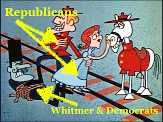Whitmer vs GOP
