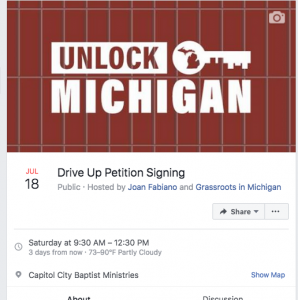 Unlock Michigan Event